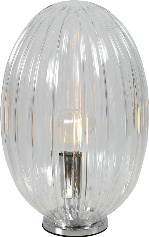 Tapas bordlampe Transparent, 1x40W E27
