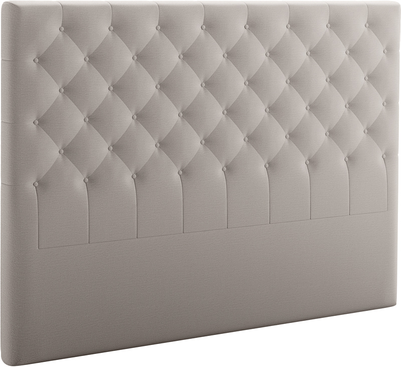 Svane® Roma B150 cm Hodegavl tekstil Moment Ice Grey