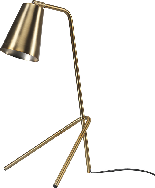 Joker bordlampe messing