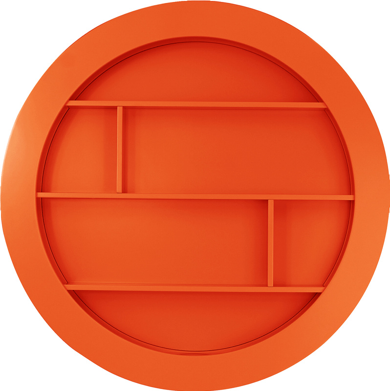 Square Circle Ø90 cm orange