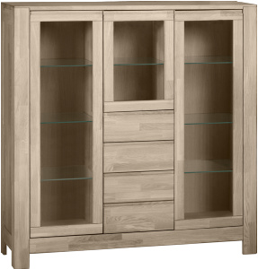 Lugano bredt highboard