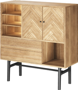 Bone highboard