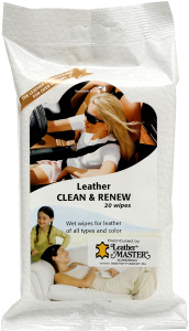 Hud Leather Clean & reneew wipes