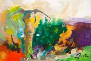 Maleri Gade Elephant Dreams